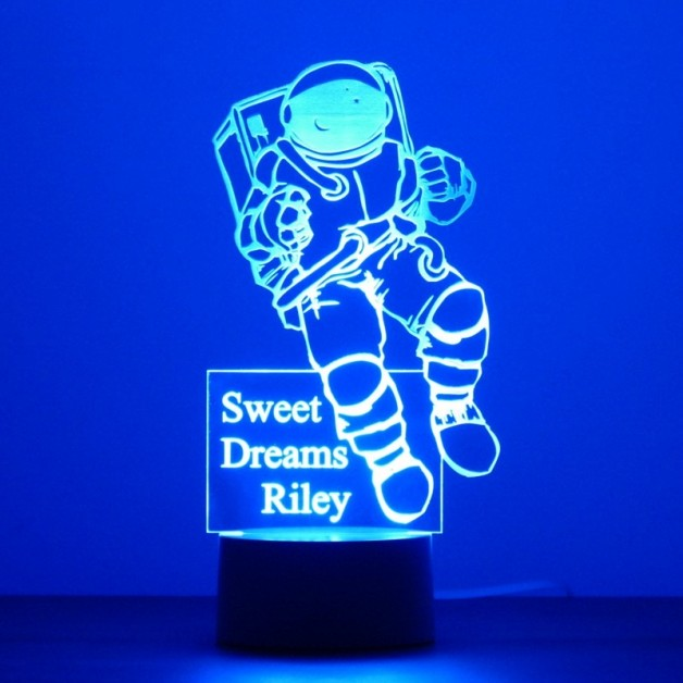 Personalised Astronaut Night Light