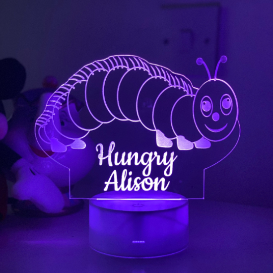Childrens Caterpillar Night Light