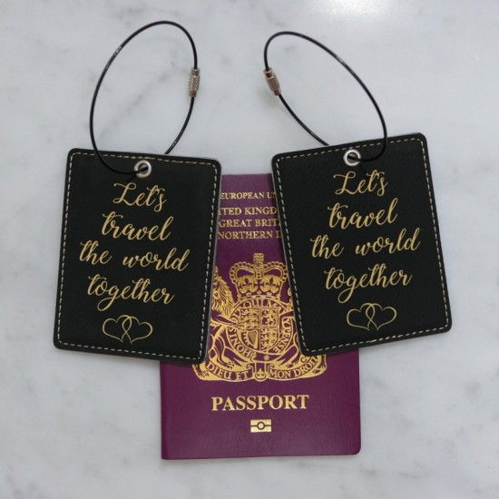 Couples Luggage Tags