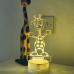 Childrens Giraffe Night Light