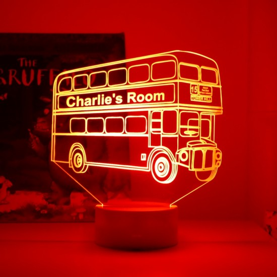 London Bus Night Light