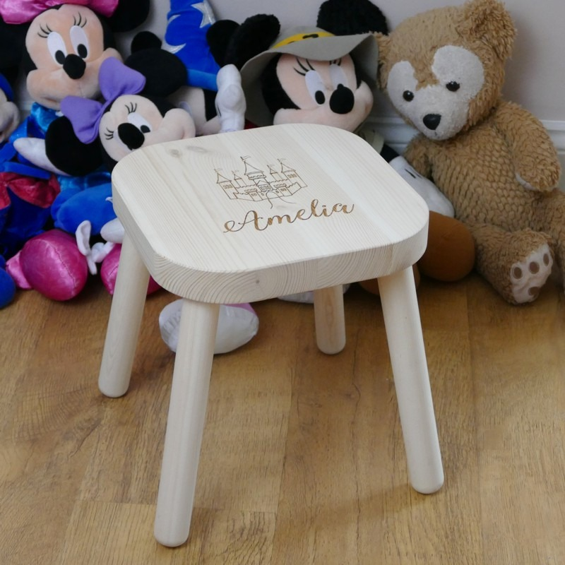 Astonishing Personalised Childrens Stool Machost Co Dining Chair Design Ideas Machostcouk