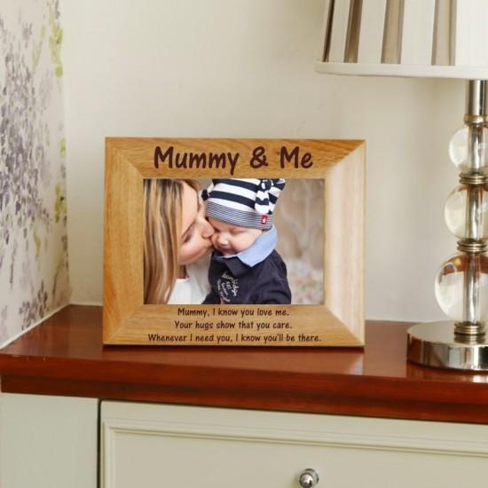 Personalised Mummy Photo Frame 5x7