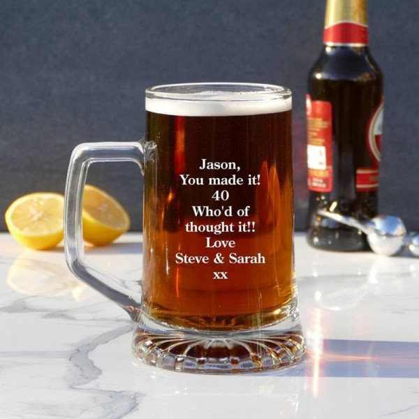 Pint Glasses and Tankards