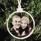 Photo Engraved Bauble