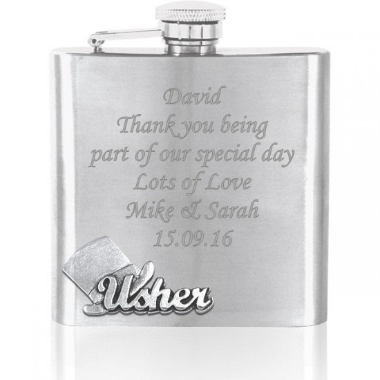 Usher Hip Flask