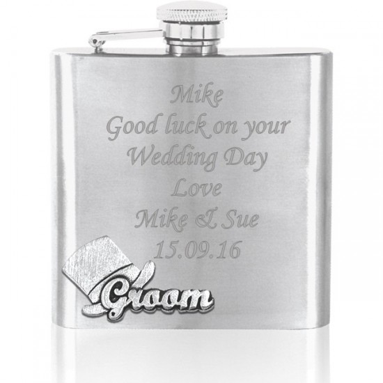 Groom Hipflask
